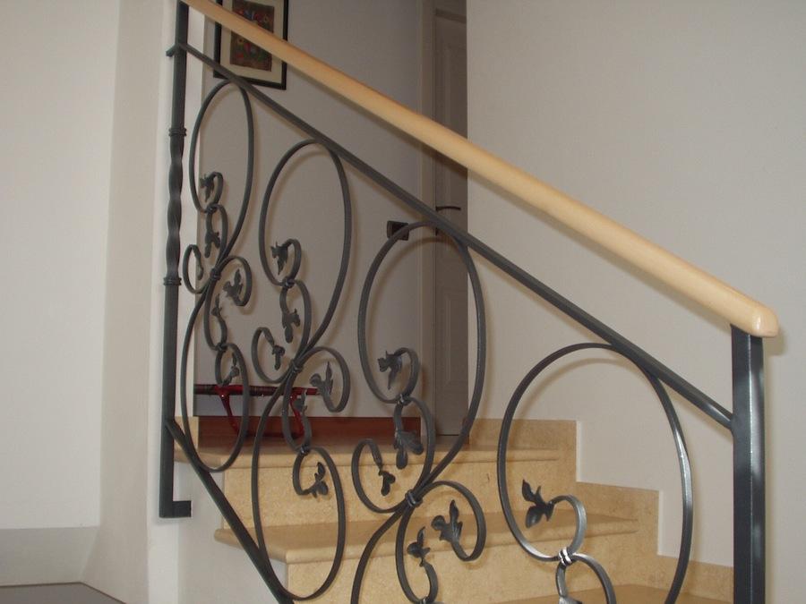 Ringhiere in ferro per interni ad77 regardsdefemmes - Scale in ferro battuto per interni ...